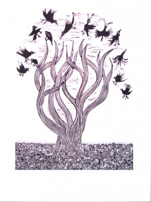 Primer plano: plástica de Liudmila Rosales y Cricel Gutiérrez