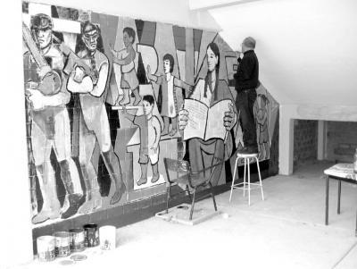 Concluye el segundo encuentro de muralistas