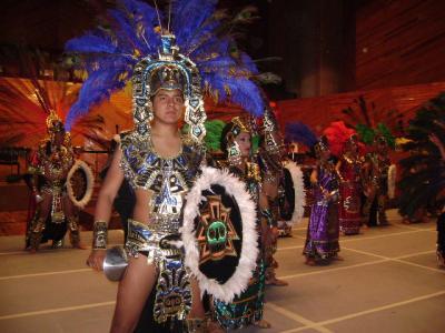 Noche de música y danzas tradicionales