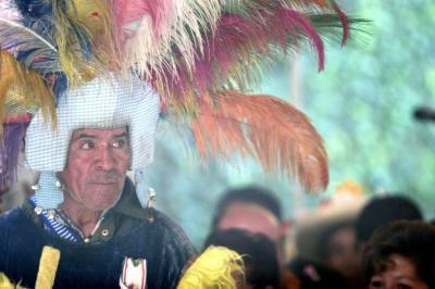 Abren la puerta al folklore indígena en el Segundo Festival de la Cultura Mazahua