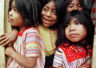 Celebran en Puebla Encuentro de Niños Indígenas