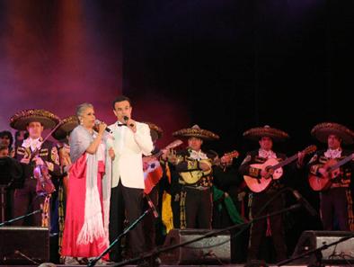 Gala musical con Eugenia León y Fernando de la Mora en el FIME vallesano