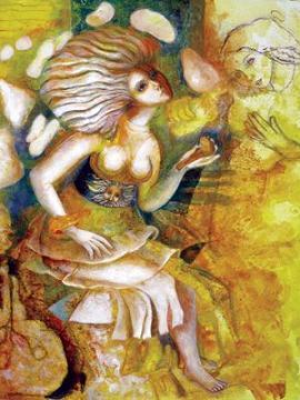 Viven en amarillo las sensaciones del arte