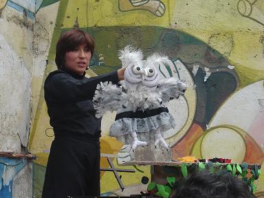"""""""El alma de los títeres está en nuestras manos"""": Ana Mariza Escobar"""