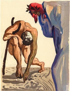Dalí, el surrealismo y Dante Alighieri